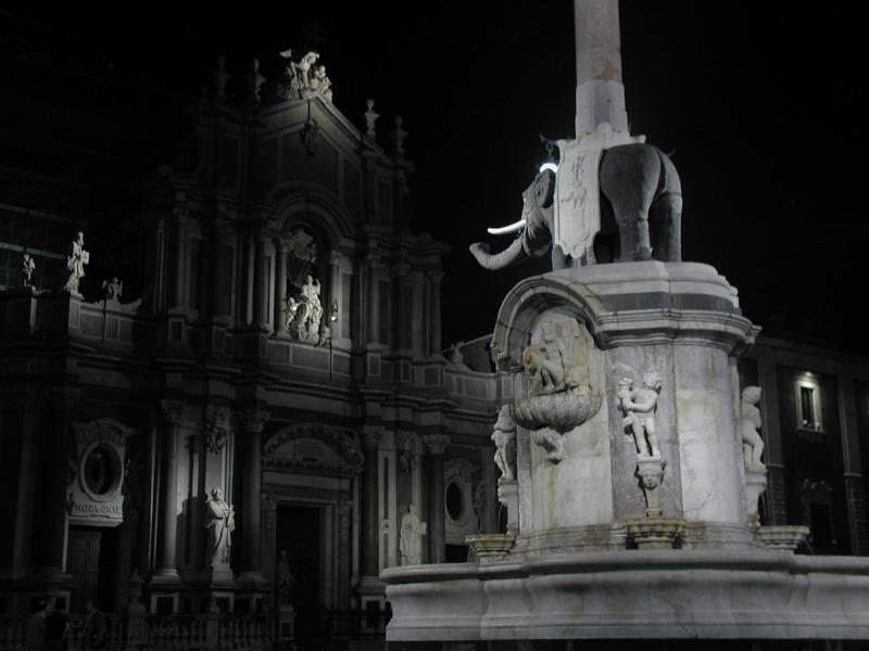 Il simbolo di Catania: l'elefante. Credits: OLYMPUS DIGITAL CAMERA