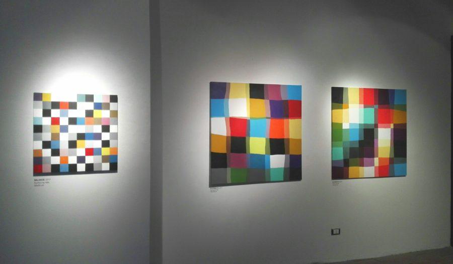 La pittura dell'artista catanese Salvo Ligama in mostra al Palazzo della Cultura