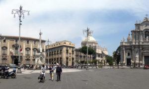 Piazza del Duomo a Catania