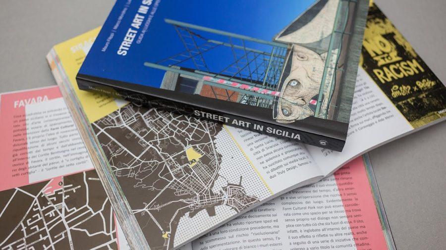 """La nuova guida """"Street Art in Sicilia"""". Fonte: TgCom 24"""