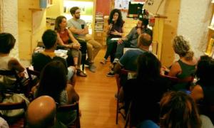 Presentazione del nuovo libro di Mauro Filippi, Marco Mondino e Luisa Tuttolomondo alla libreria Vicolo Stretto di Catania