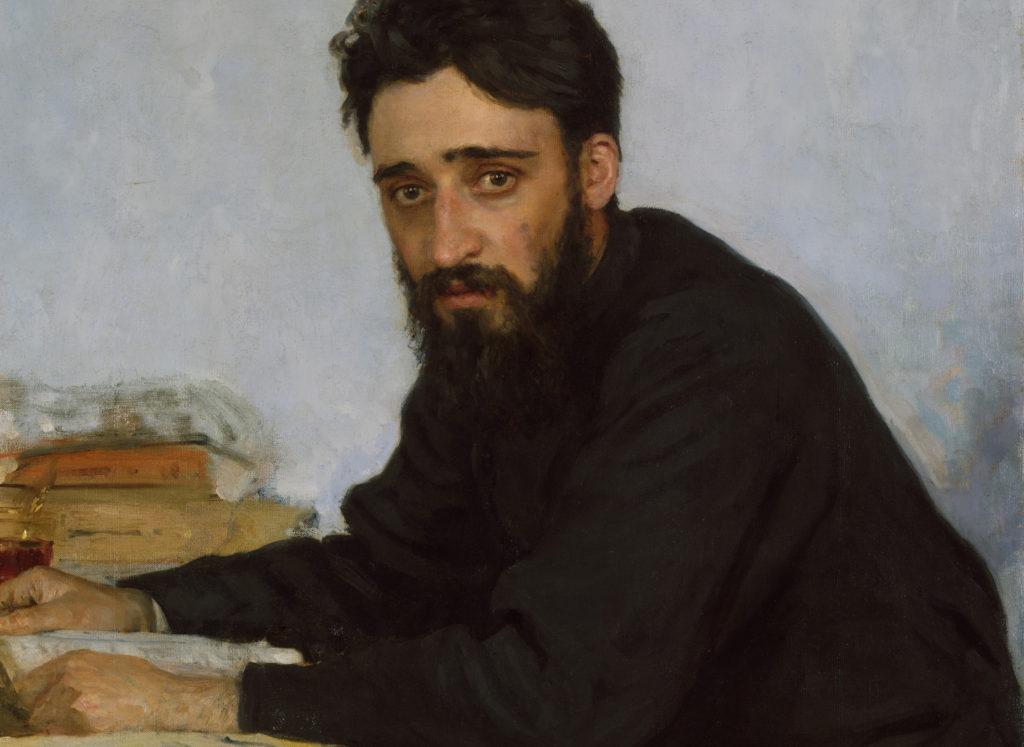 Opera di Ilia Efimovich Repin, in copertina de Il falsario di Caltagirone, di Maria Attanasio