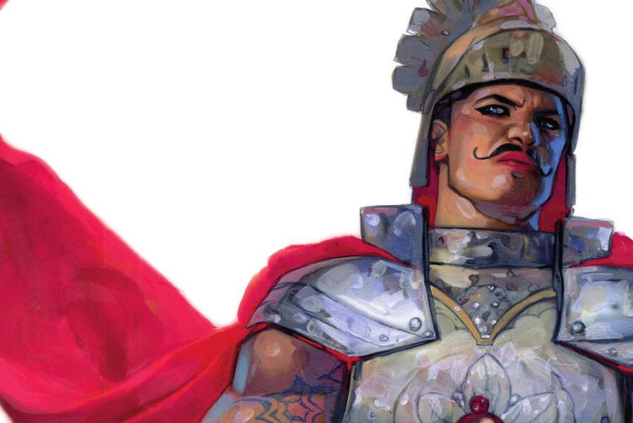 Uzeta è il soggetto di un disegno di Alex Maleev, usato nei manifesti dell'Etna Comics 2017