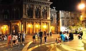 La bellissima città di Catania. La più bella del sud