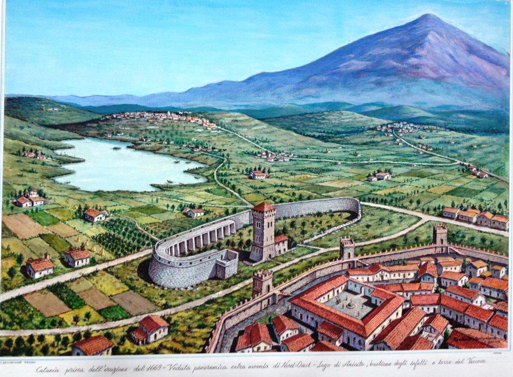 Bastione degli infetti: testimonianza della Catania fortificata
