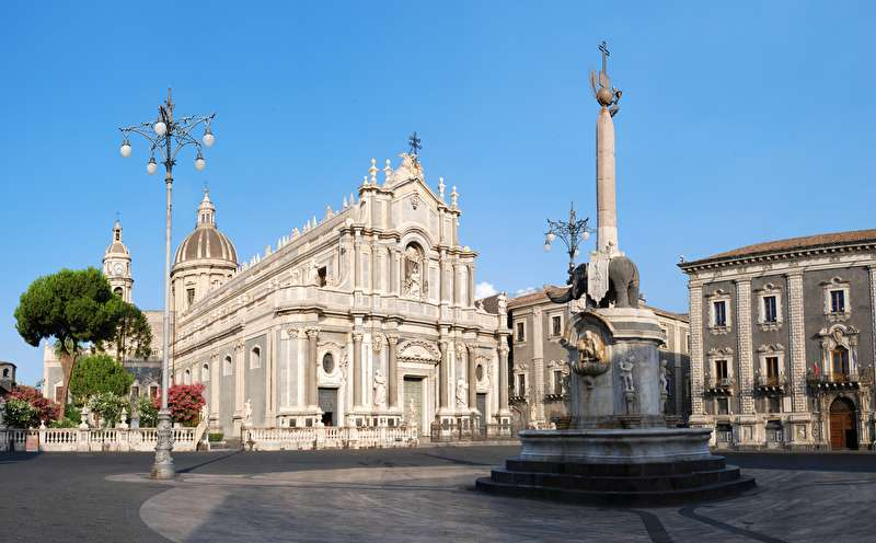 Il centro di Catania