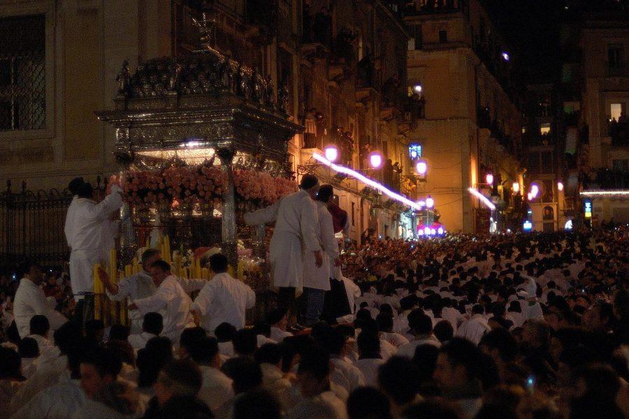 Vedere la festa di Sant'agata a Catania è un'esperienza unica al mondo