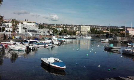 Il borgo marinaro di Ognina a Catania
