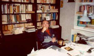 Lo scrittore catanese Sebastiano Addamo, cantore della città di Catania.