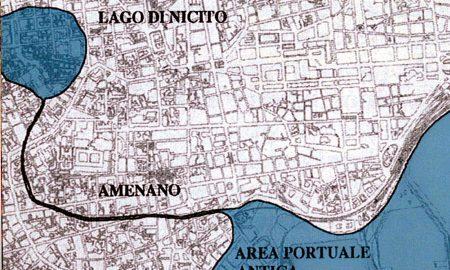 antica ubicazione del lago di nicito