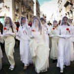 Le 'Ntuppatedde nella festa di Sant'Agata