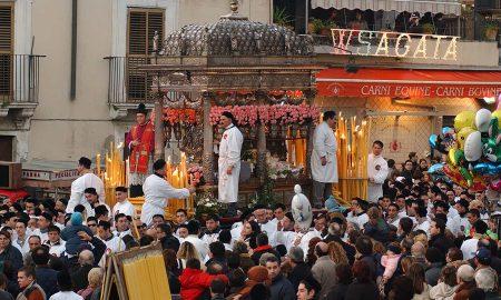 Sant'agata in processione