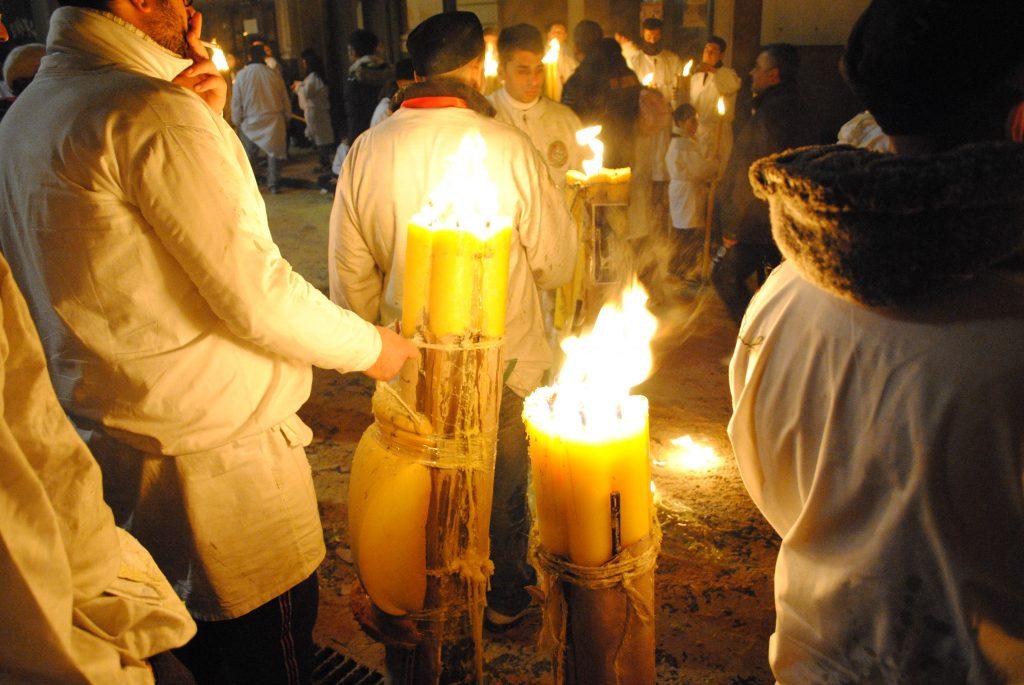 L'abito dei catanesi per la festa di sant'Agata
