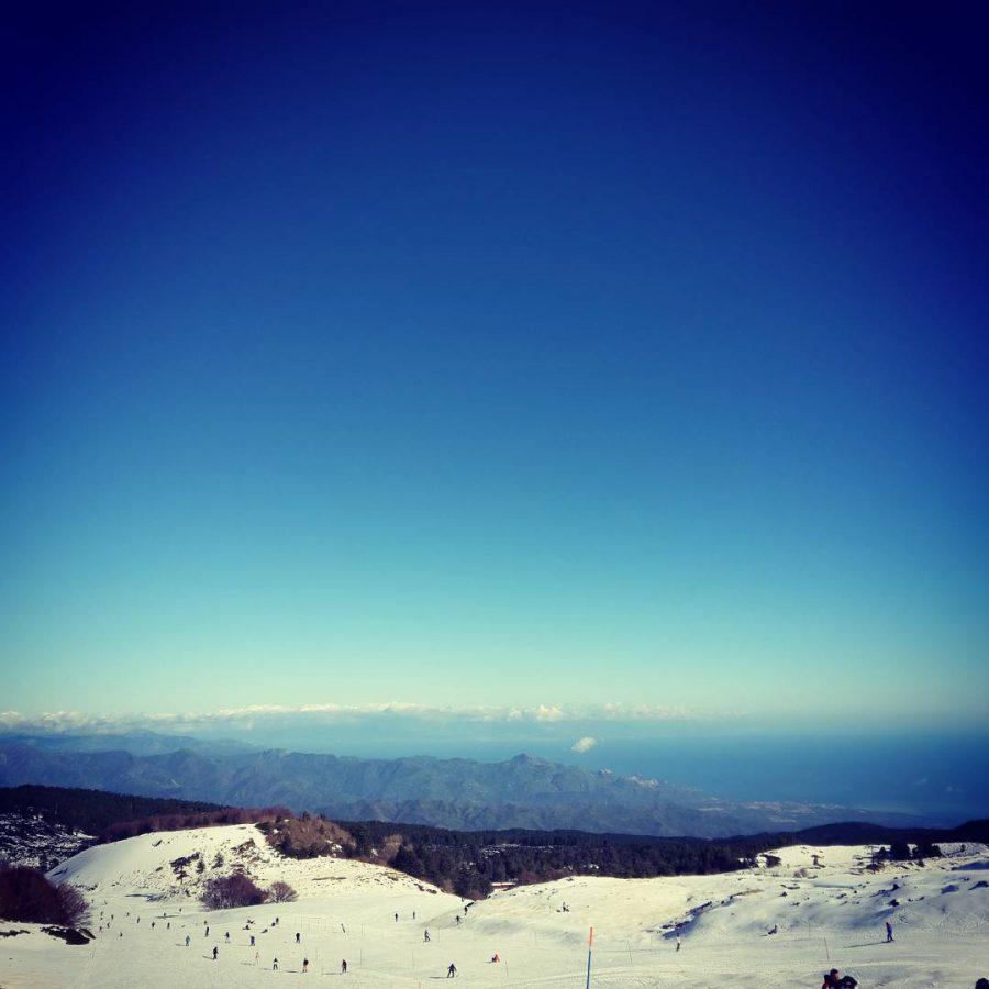 Sciare sull'Etna per un San Valentino romantico. Fonte: Sci Marche