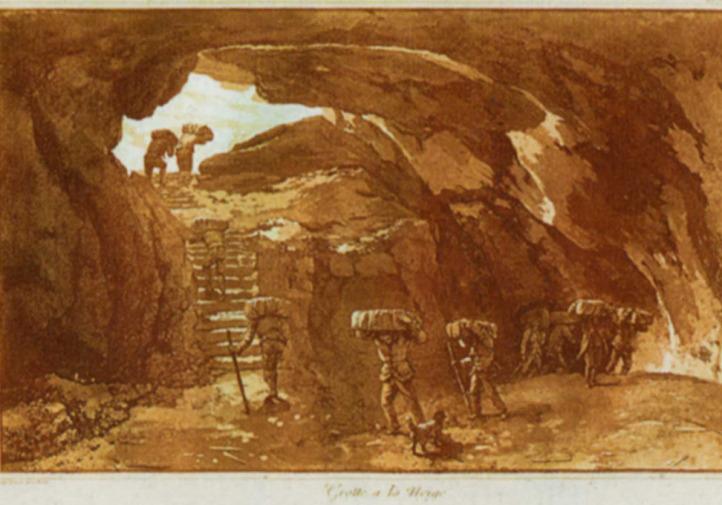 neviere dell'etna: grotta dei ladroni