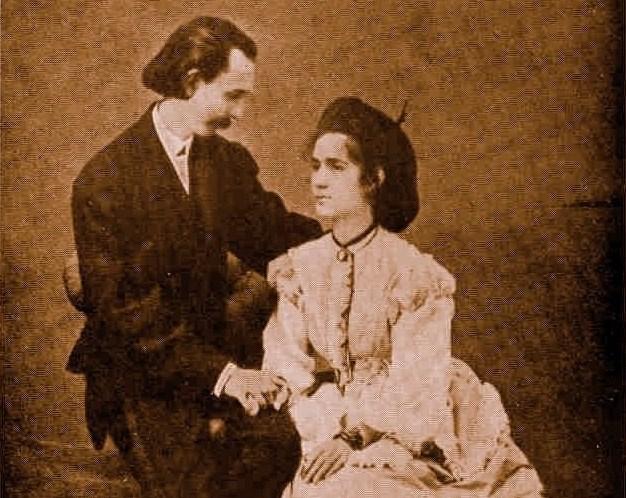 Rapisardi e moglie
