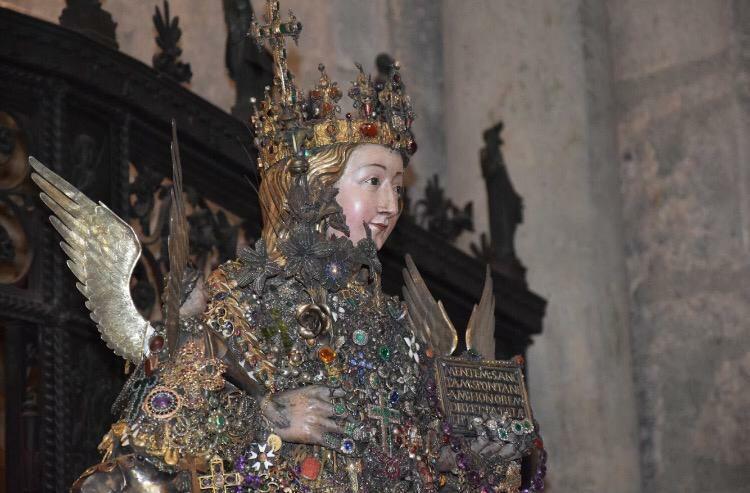 I devoti e Sant'Agata