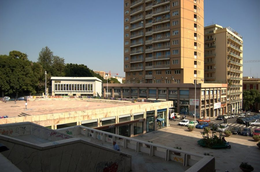 Largo Paisiello a Catania. Fonte foto: Mapio.net