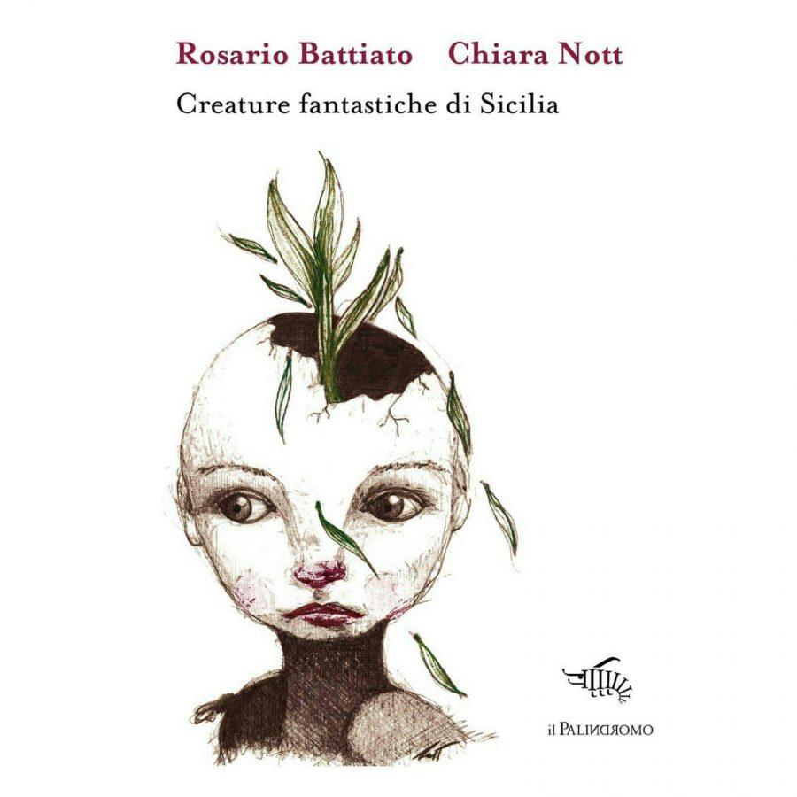 Creature fantastiche di Sicilia: copertina del libro.