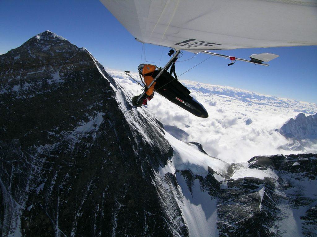 Angelo D'Arrigo in volo.<br /> ©Spin360/Grazia Neri