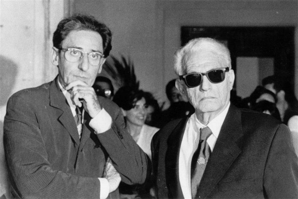 Franco Battiato e Manlio Sgalambro