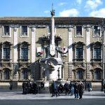 Il Palazzo degli Elefanti, sede del Municipio di Catania