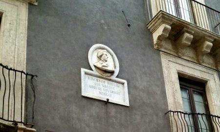 Abitazione Vincenzo Bellini. Via Vittorio Emanuele Ct