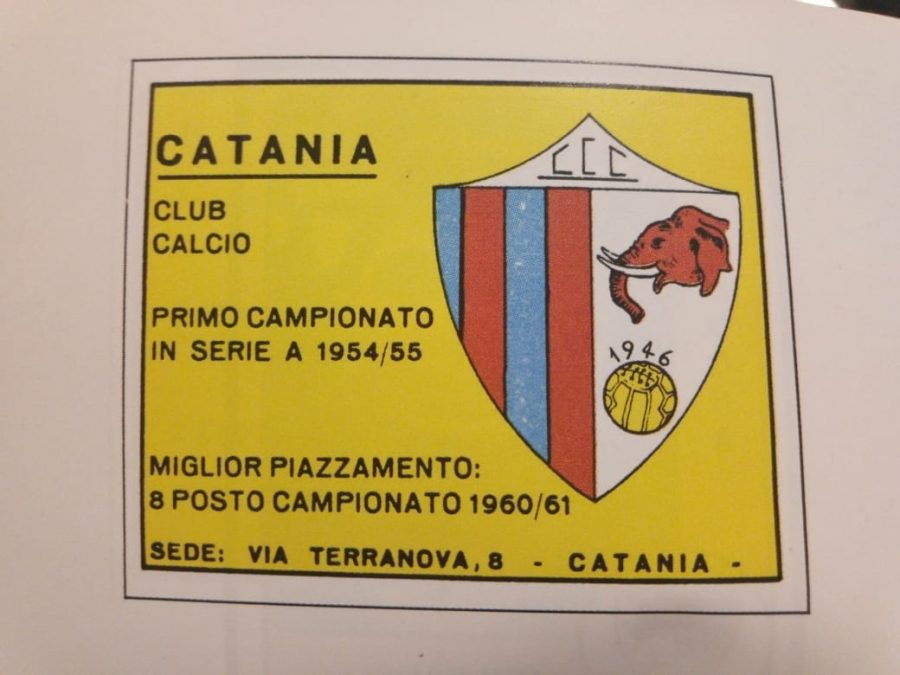 La squadra del Catania nell'epoca del Clamoroso al Cibali. Credits foto: Giuseppe Costanzo