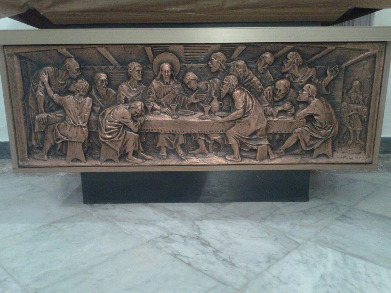 Rappresentazione Bronzea All'interno Della Casa