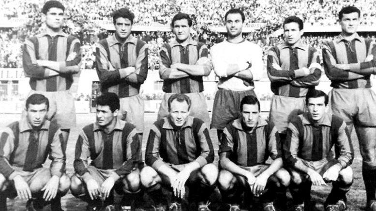 Squadra Catania Clamoroso al Cibali. Fonte Storie Di Calcio Altervista