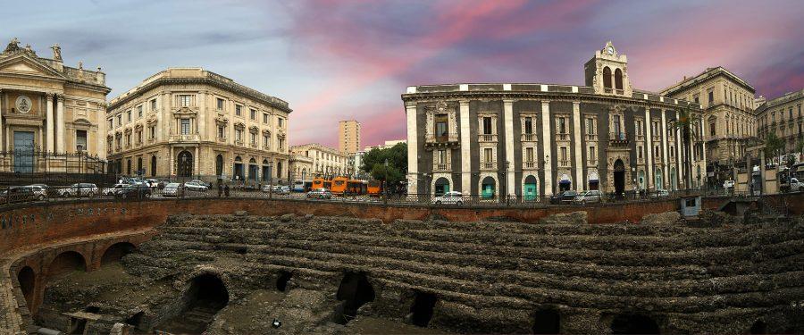 I resti della Catania greco-romana: l'origine del suo nome. Fonte: It.aegeanair.com