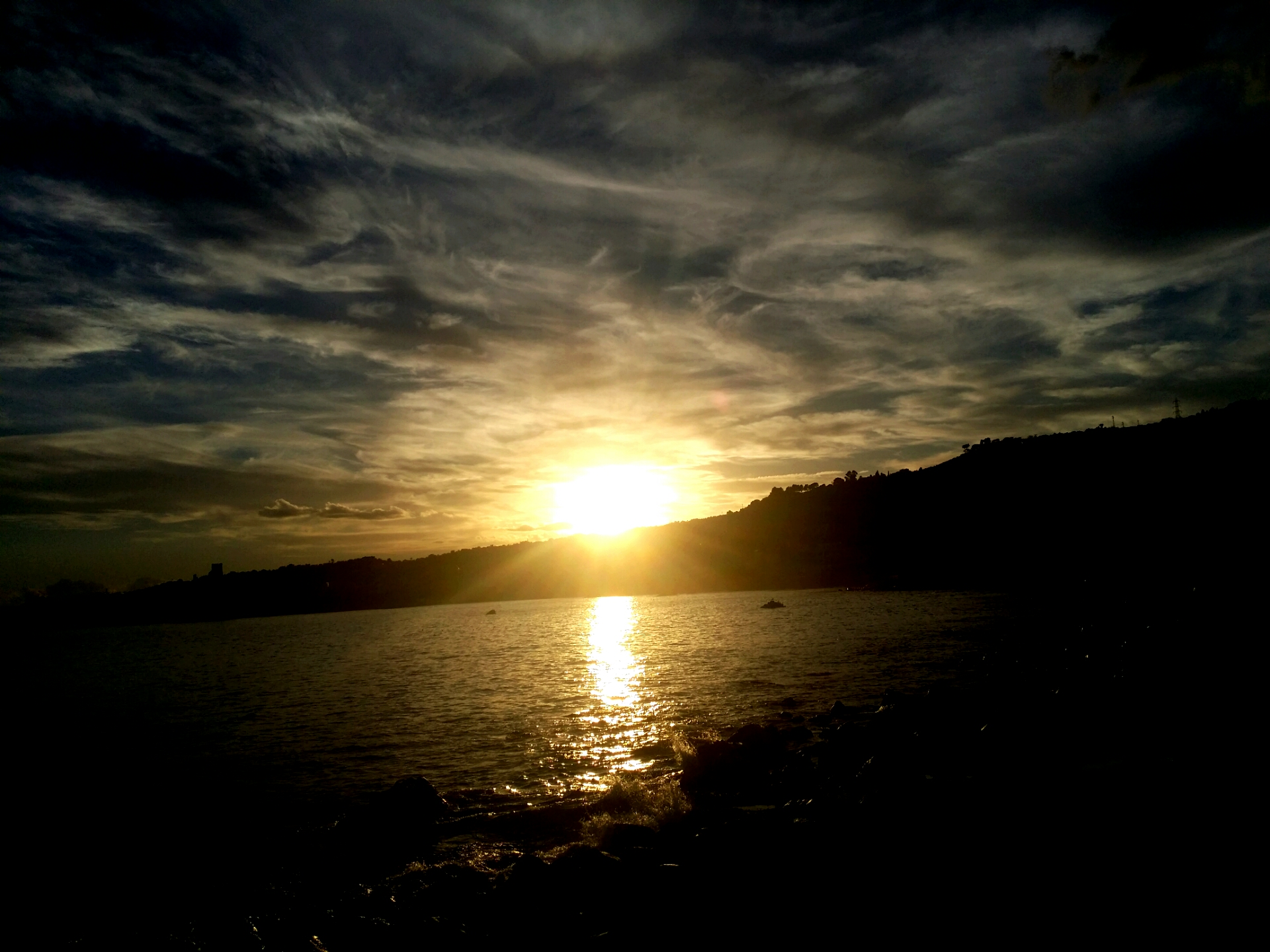 Favoloso Tramonto Acitrezza- tramonti settembrini