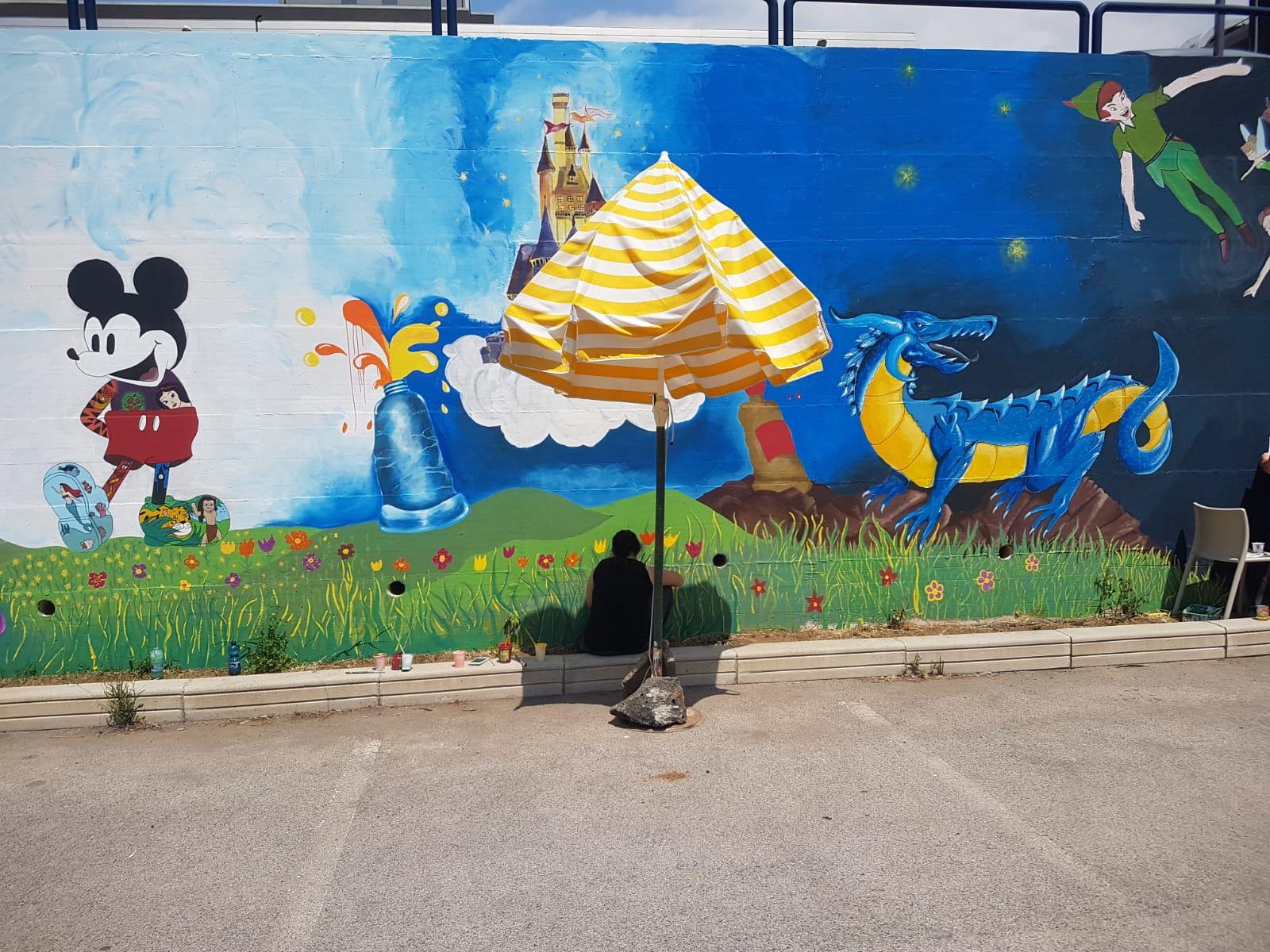 murale delle favole