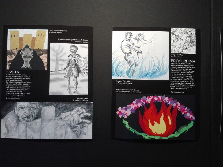 La mostra dedicata ai miti catanesi all'interno del festival EtnaComics.