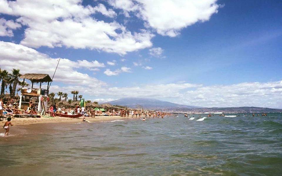 Mare e Spiaggia della Playa di Catania