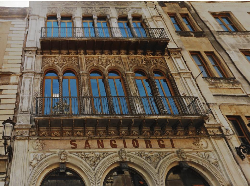 Teatro Sangiorgi, Via Antonino Di Sangiuliano, Arch. Salvatore Giuffrida
