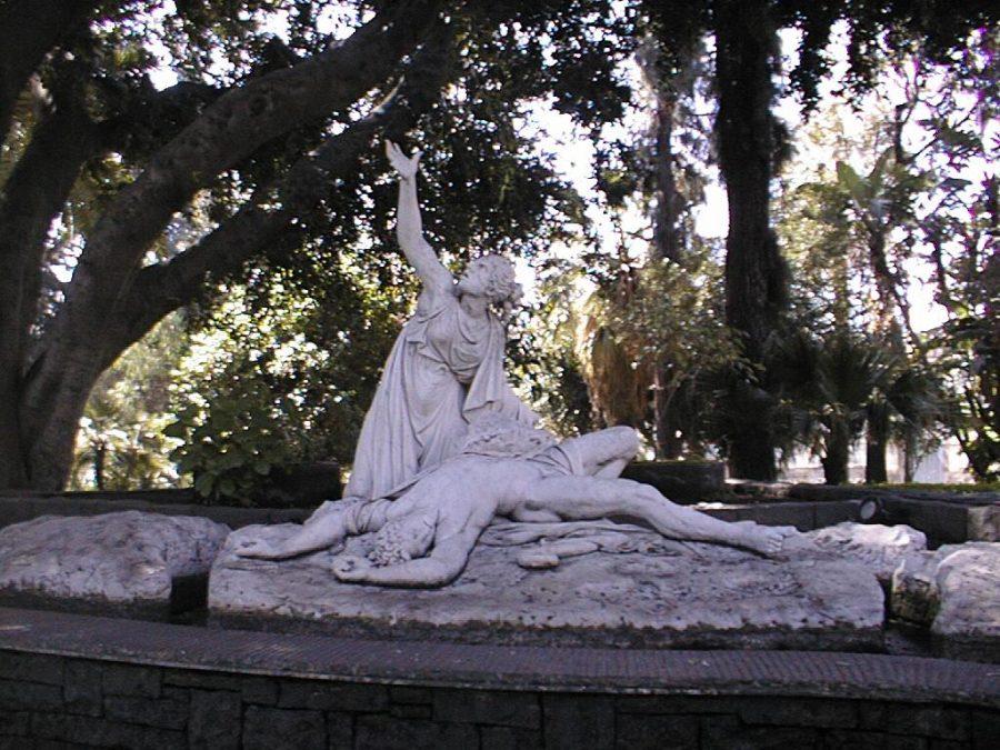 Aci e Galatea. Fonte: Vivi Catania