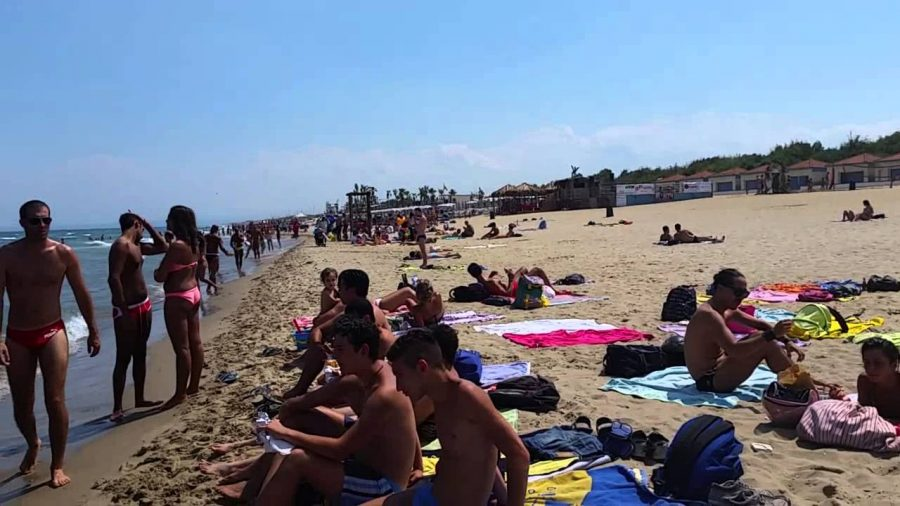 La playa di Catania. Fonte foto: Youtube P.Carey