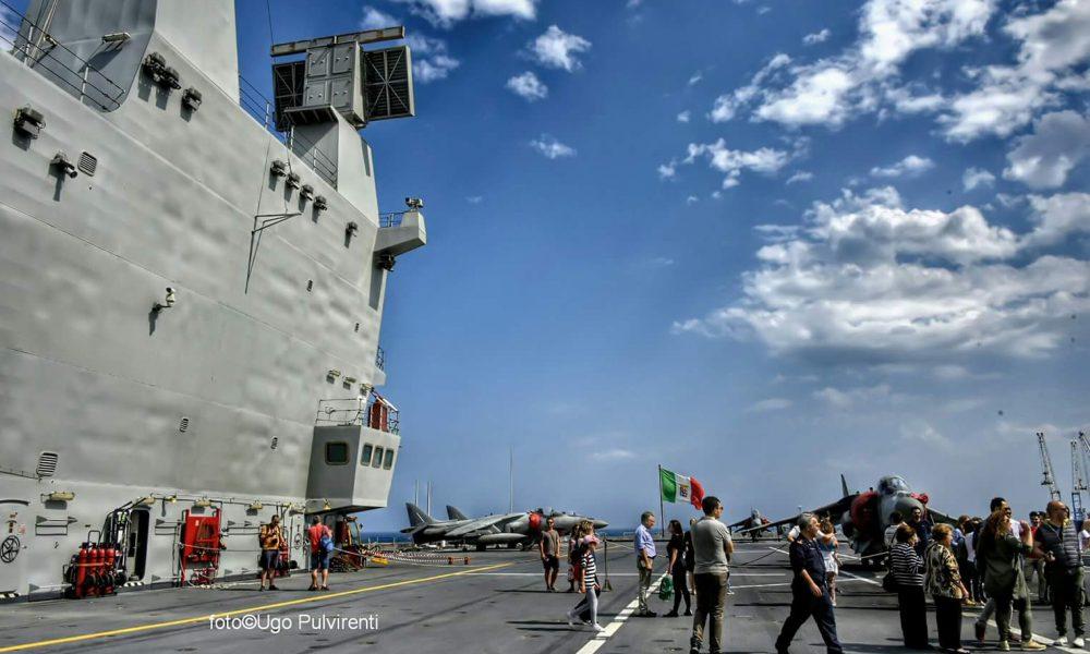 Porto Di Catania, Portaerei Cavour Marina Militare