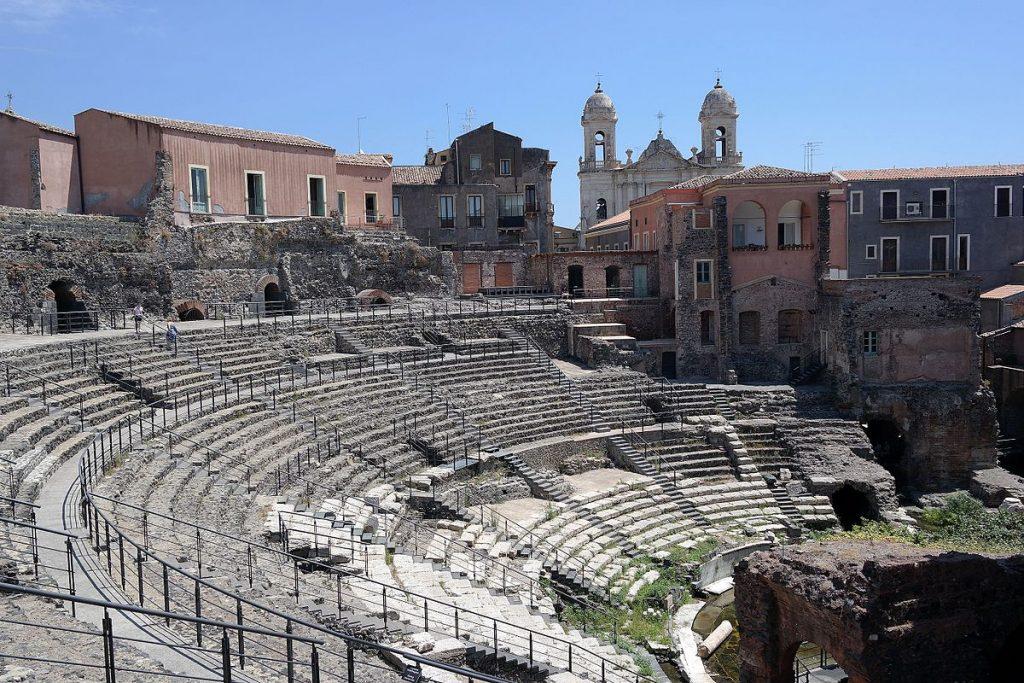 Catania Teatro Romano e odeon