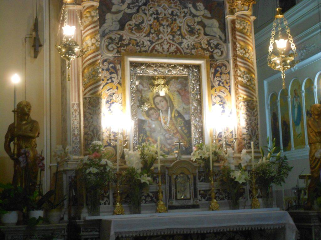 Effige della Madonna di Valverde