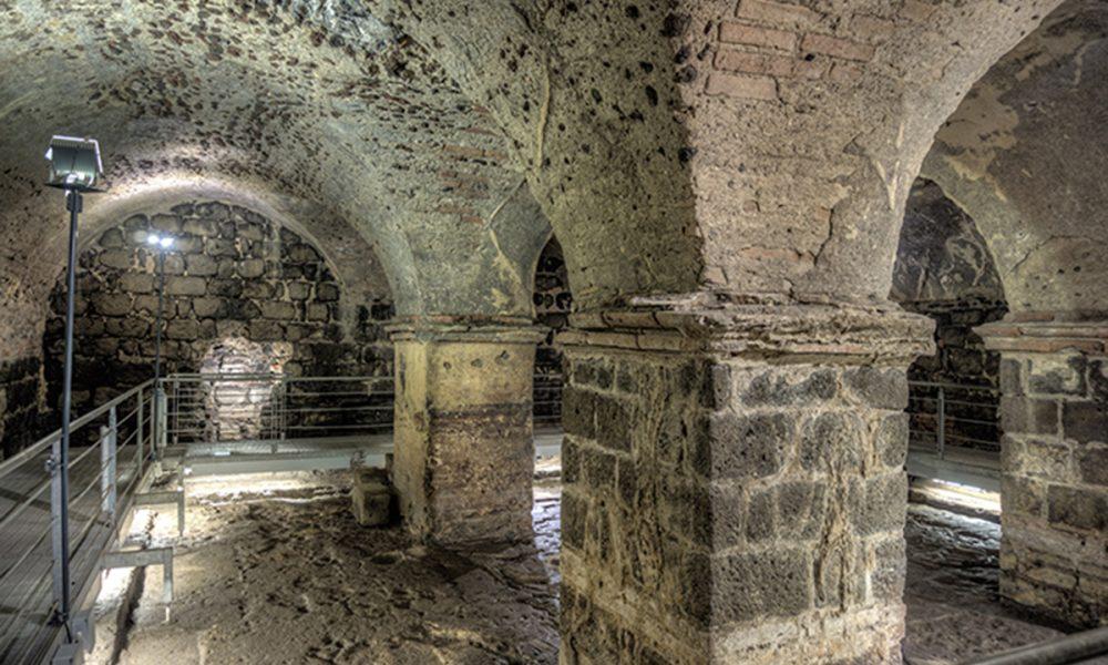 Terme Achilliane Frigidario Sala Dei Pilastri