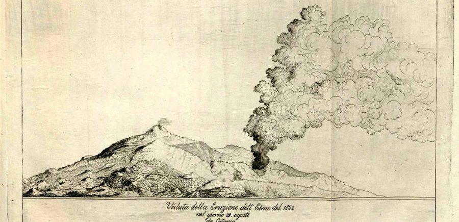 Etna, eruzione del 20 agosto 1852: una delle eruzioni che visse lo scienziato etneo. Fonte foto: il Vulcanico