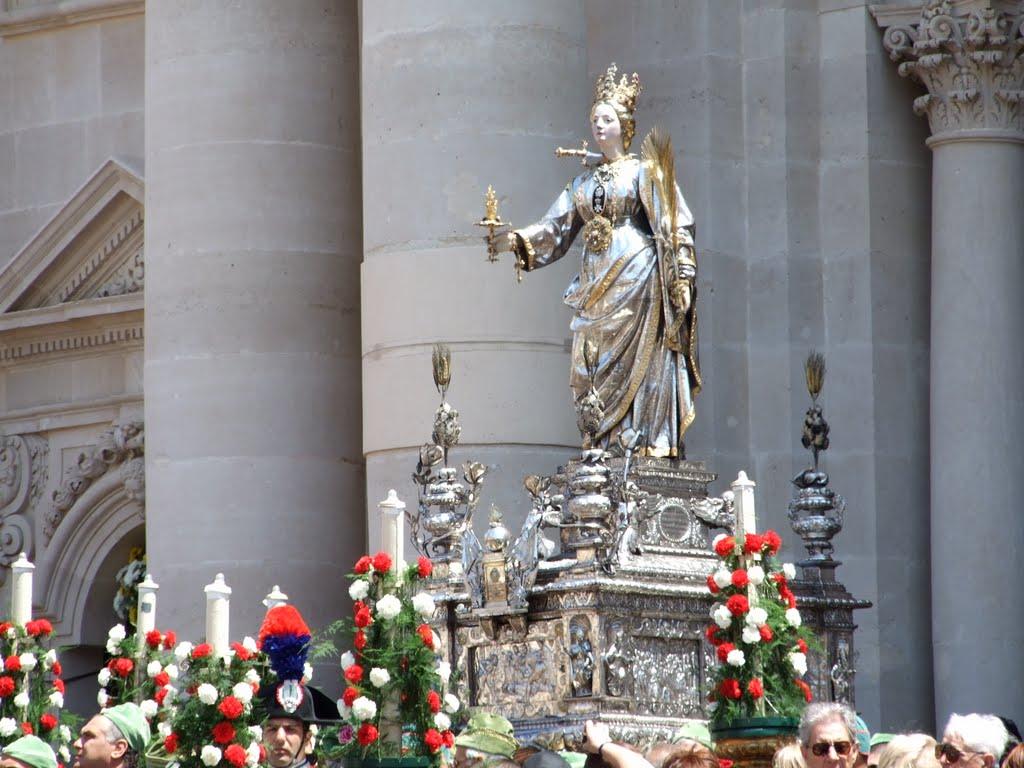 Statua Di Santa Lucia Siracusa