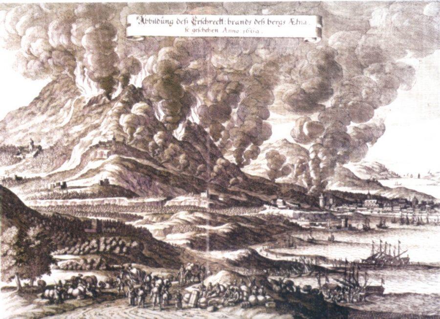 Terremoto ed eruzione a Catania nel 1669. Fonte foto: MeteoWeb