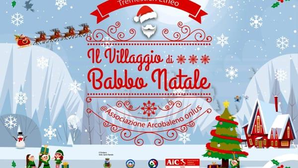 Il Villaggio Di Babbo Natale Sbarca A Tremestieri Etneo