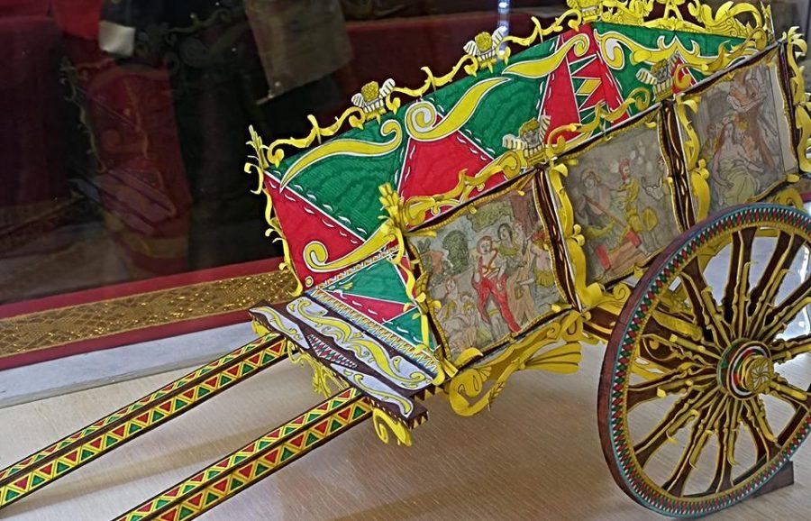 Il Carretto Siciliano realizzato dal giovane artista catanese.