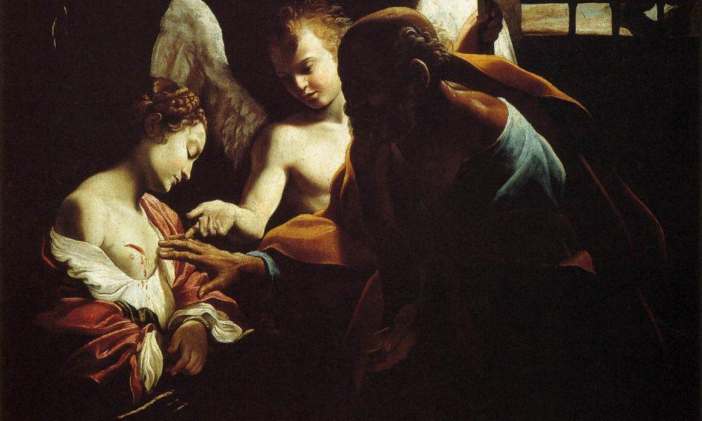 Sant'Agata e Iside - Sant'Agata visitata in carcere