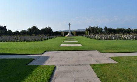 Cimitero inglese a Catania