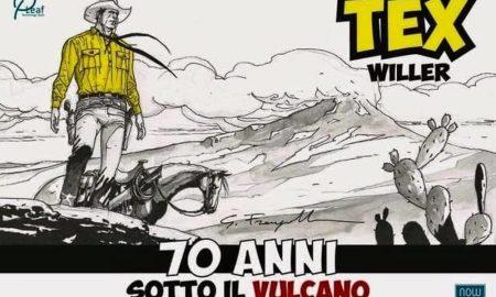 Catania festeggia i settantanni di Tex Willer